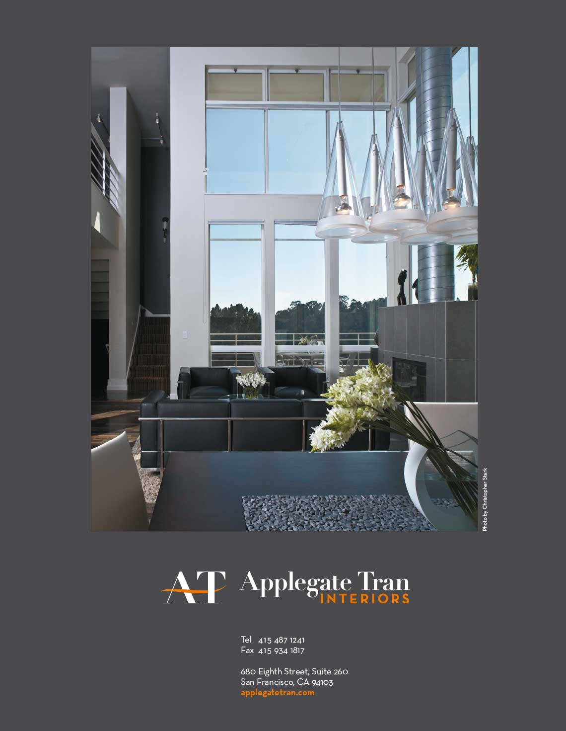 Applegate Tran Interiors Ad