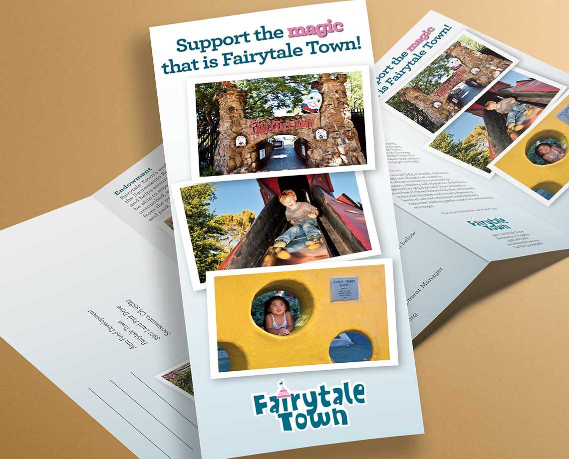 Fairytale Town Support Brochure