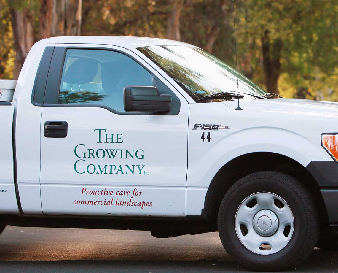 Growing Company Truck