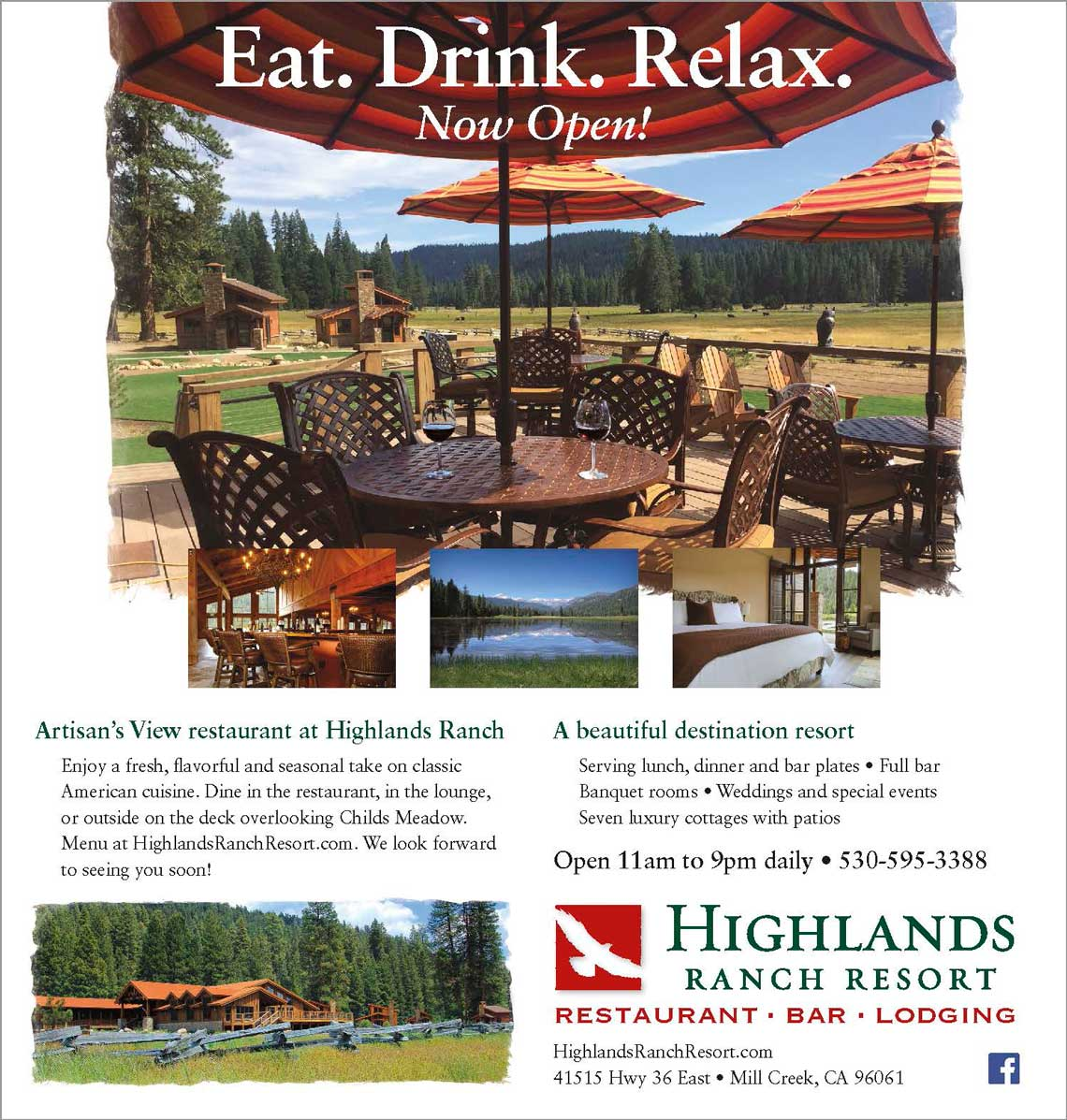Highlands Ranch Resort Ad