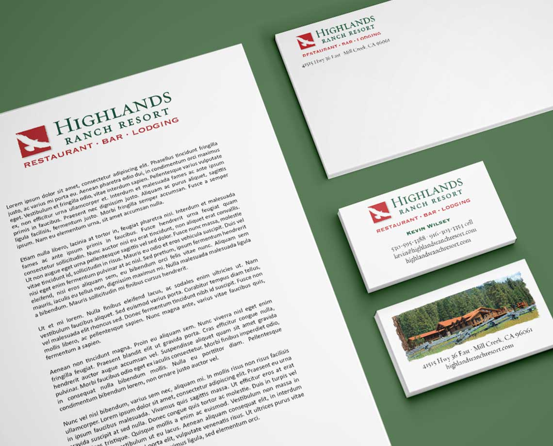 Highlands Ranch Resort Identity